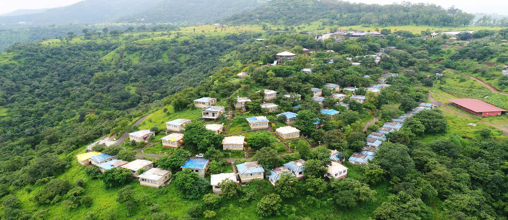 Natural waterfall Mantra resort near pune,resorts near Pune